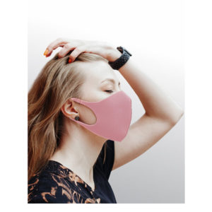 Dizao Маска гигиеническая профилактическая 3D Fashion Mask многоразовая, цвет розовый (8 г) 5