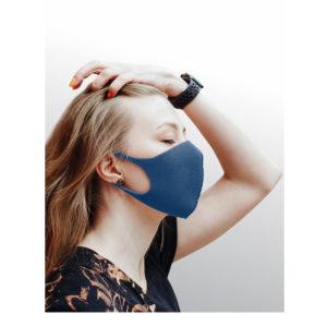 Dizao Маска гигиеническая профилактическая 3D Fashion Mask многоразовая, цвет тёмно-синий (8 г) 7