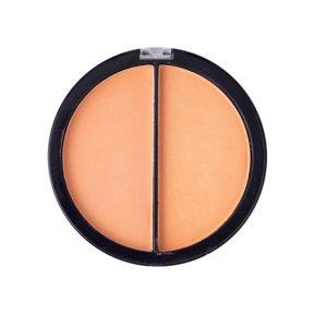 Mildlook Румяна компактные двухцветные Matte+Shine Blush, Ph8037 круглые, тон 02 6