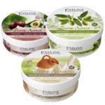 Набор кремов для тела Eveline (какао, 1 шт + оливки, 1 шт + коллаген, 1 шт) 2