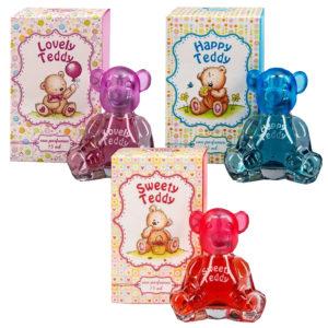 Набор Ponti Parfum Душистая вода для детей (красная 1 шт + розовая 1 шт + голубая 1 шт) 8