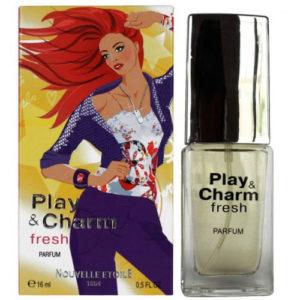Новая Заря Духи для женщин Play & Charm Fresh (Играй и очаровывай свежий), 16 мл 69