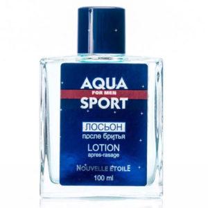 Новая Заря Лосьон после бритья Aqua Sport (Аква спорт), 100 мл 2