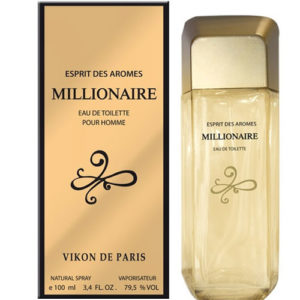 Новая Заря Туалетная вода для мужчин Millionaire (Миллионер), 100 мл 1