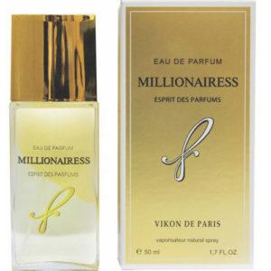 Новая Заря Парфюмерная вода для женщин Millionairess (Миллионерша), 50 мл 5