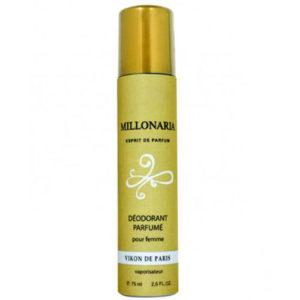 Новая Заря Дезодорант парфюмированный для женщин Millionairess (Миллионерша), 75 мл 13