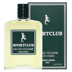 Новая Заря Одеколон для мужчин Sportclub (Спортклуб), 100 мл 13