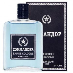 Новая Заря Одеколон для мужчин Commander (Командор), 100 мл 11