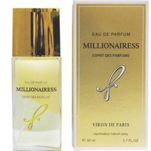 Новая Заря Парфюмерная вода для женщин Millionairess Eau My Solar (Миллионерша моя солнечная вода), 50 мл 4