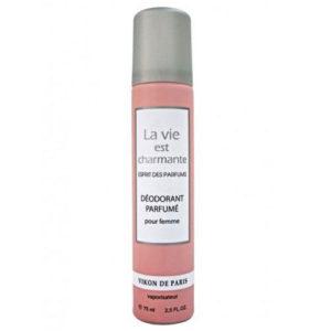 Новая Заря Дезодорант парфюмированный для женщин Charmante Comme La Vie (Жизнь прекрасна), 75 мл 1