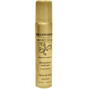 Новая Заря Дезодорант парфюмированный для женщин Eau My Solar Millionairess (Моя солнечная вода миллионерша), 75 мл 3