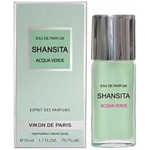 Новая Заря Парфюмерная вода для женщин Shansita Acqua Verde (Шансита свежая вода), 50 мл 3