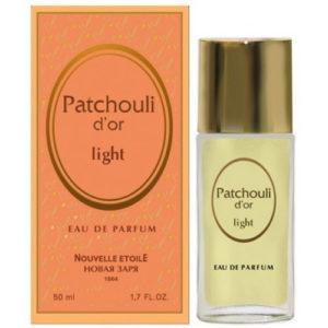 Новая заря Парфюмерная вода для женщин Patchouli d'or Light (Золотая пачули лайт), 50 мл 2