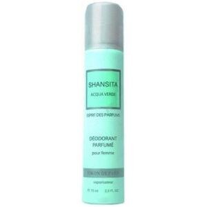 Новая Заря Дезодорант парфюмированный для женщин Shansita Acqua Verde (Шансита свежая вода), 75 мл 21
