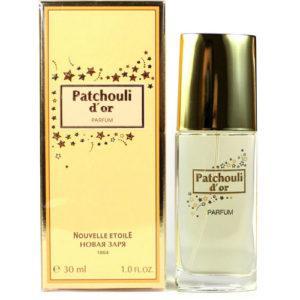 Новая Заря Духи для женщин Patchouli d'or (Золотая пачули), 30 мл 67