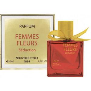Новая Заря Духи для женщин Femmes Fleurs Seduction (Женщина цветы соблазн), 30 мл 38