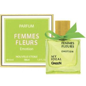 Новая Заря Духи для женщин Femmes Fleurs Emotion (Женщина цветы эмоция), 30 мл 9