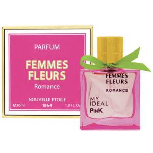 Новая Заря Духи для женщин Femmes Fleurs Romance (Женщина цветы роман), 30 мл 6