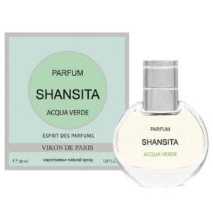 Новая Заря Духи для женщин Shansita Acqua Verde (Шансита свежая вода), 30 мл 2