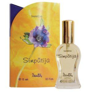 Dzintars Духи для женщин Simpatija (Симпатия), 15 мл 2