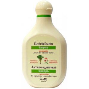 Dzintars Шампунь с кератином для окрашенных волос любого типа из антиоксидантной серии, 240 мл 5
