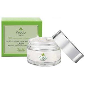 Dzintars Крем интенсивно увлажняющий для сухой и нормальной кожи лица и шеи Kredo Natur, 50 мл 1