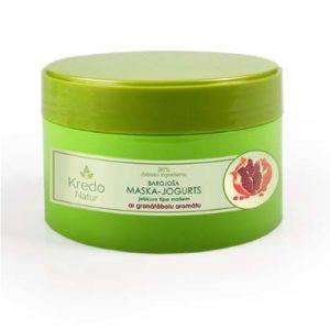 Dzintars Маска-йогурт питательная для любого типа волос с ароматом граната Kredo Natur, 250 мл 2