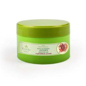 Dzintars Йогурт для лица и тела для любого типа кожи с ароматом граната Kredo Natur, 250 мл 83