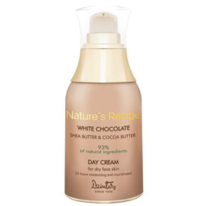 Dzintars Крем дневной для сухой кожи Nature's Recipe белый шоколад, 50 мл 1