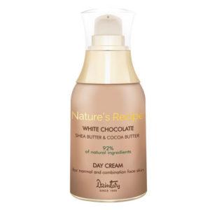Dzintars Крем дневной для нормальной и комбинированной кожи лица Nature's Recipe белый шоколад, 50 мл 6