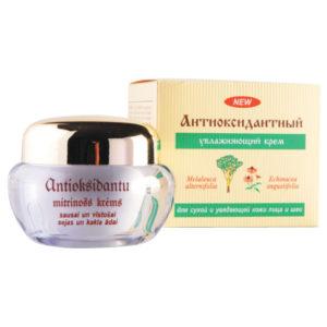 Dzintars Крем увлажняющий для сухой и увядающей кожи лица и шеи из антиоксидантной серии, 50 мл 1