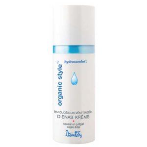 Dzintars Крем дневной питательный и смягчающий для сухой и чувствительной кожи лица Organic Style hydrocomfort, 50 мл 2