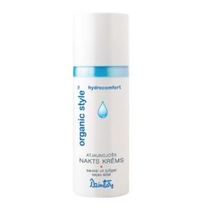 Dzintars Крем ночной восстанавливающий для сухой и чувствительной кожи лица Organic Style hydrocomfort, 50 мл 1