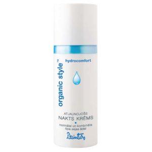 Dzintars Крем ночной восстанавливающий для нормальной и комбинированной кожи лица Organic Style hydrocomfort, 50 мл 4