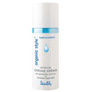 Dzintars Крем дневной увлажняющий с матирующим эффектом для жирной кожи лица Organic Style hydrocomfort, 50 мл 6