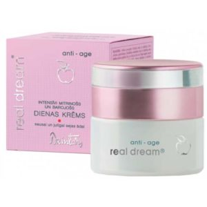 Dzintars Крем дневной интенсивно увлажняющий и питательный для сухой и чувствительной кожи лица Real Dream anti-age, 50 мл 1