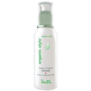 Dzintars Молочко нежное очищающее для сухой и чувствительной кожи лица Organic Style clean skin, 150 мл 4