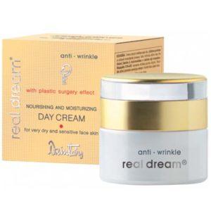 Dzintars Крем дневной питательный от морщин для сухой и чувствительной кожи лица Real Dream anti-wrinkle, 50 мл 1