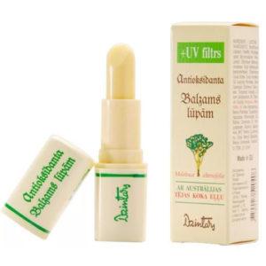 Dzintars Бальзам для губ с маслом австралийского чайного дерева и УФ-фильтром из антиоксидантной серии, 4 г 26