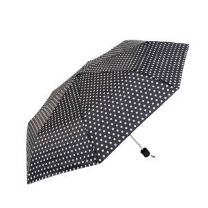 Зонт женский Горошек механический, 3 сложения, R48, 8 спиц 6