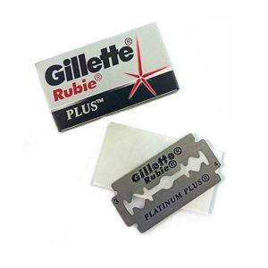 PG GILETTE Rubie Plus Лезвия сменные для безопасных бритв (по 5 шт в уп) 8