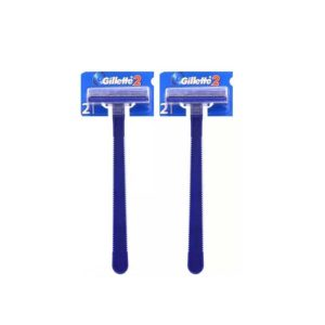 Pg Gilette 2 бритвы одноразовые безопасные для мужчин (по 2 шт на картоне) 13