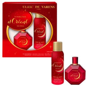 Ulric de Varens Набор парфюмерно-косметический для женщин Varens d'Orient Rubis 7
