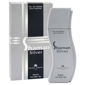 Arno Sorel Туалетная вода для мужчин Shaman Silver, 100 мл 4