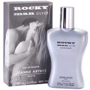 Jeanne Arthes Туалетная вода для мужчин Rocky Man Silver, 100 мл 89