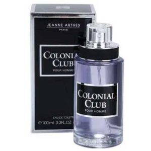 Jeanne Arthes Туалетная вода для мужчин Colonial Club, 100 мл 99