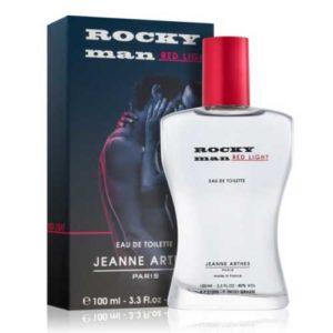 Jeanne Arthes Туалетная вода для мужчин Rocky Man Red Light, 100 мл 100