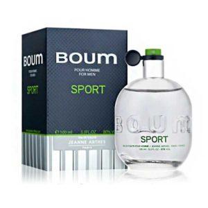 Jeanne Arthes Туалетная вода для мужчин Boum Sport (Бум спорт) свежий, зелёный 100 мл 10