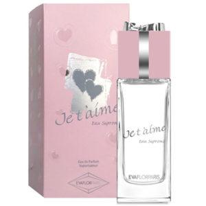 Evaflor Парфюмерная вода для женщин Je T'aime Eau Supreme (Жэ тэм о сюпрем), 100 мл 49