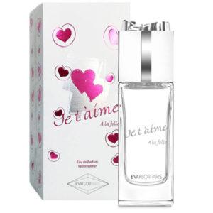 Evaflor Парфюмерная вода для женщин Je T'aime A la Folie (Жэ тэм а ла фоли), 100 мл 47